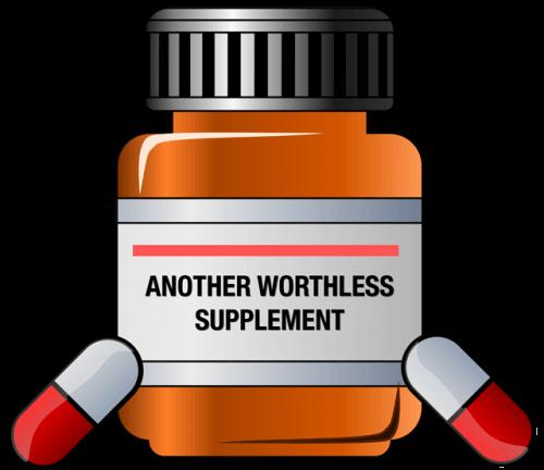 false supplement labeling